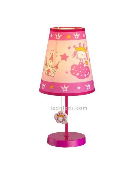 Lámpara de mesa serie Princess-castillos y princesas | LeonLeds.com