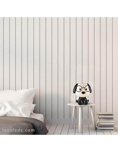 Lámpara de mesa Puppy |LeonLeds.com