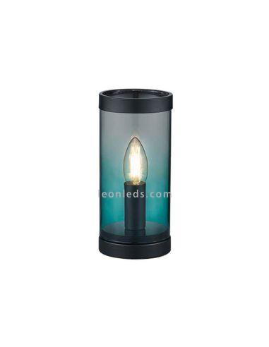 Lámpara de sobremesa turquesa Cosy | LeonLeds.com