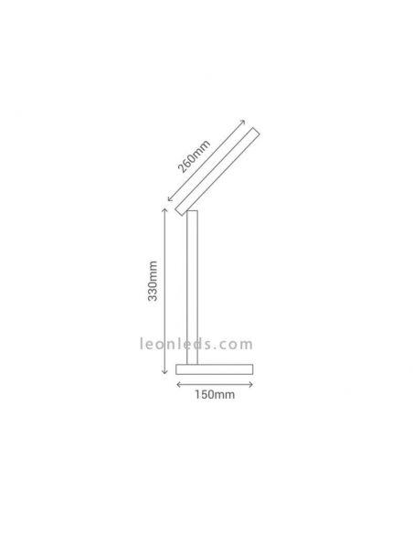 Flexo LED 6.6W Asser moderno de Sulion | LeonLedsiluminacion