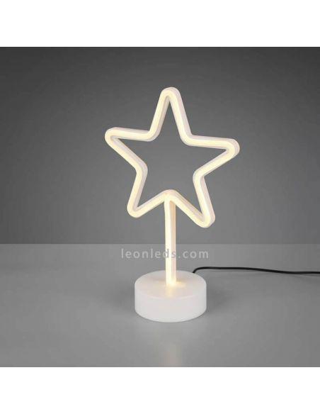Lámapra de sobremesa Star de Trio Lighting | LeonLeds.com