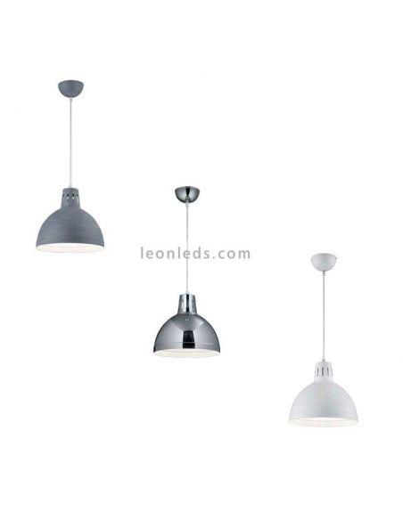 Lámpara de techo Industrial Scissor de Trio  | LeonLeds.com