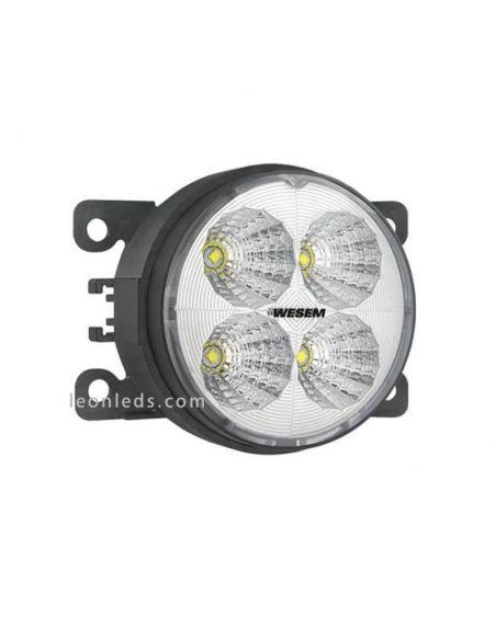 Faro Redondo Ø87 LED Con Soporte 12-24V- Con Cable- | LeonLedsiluminacion