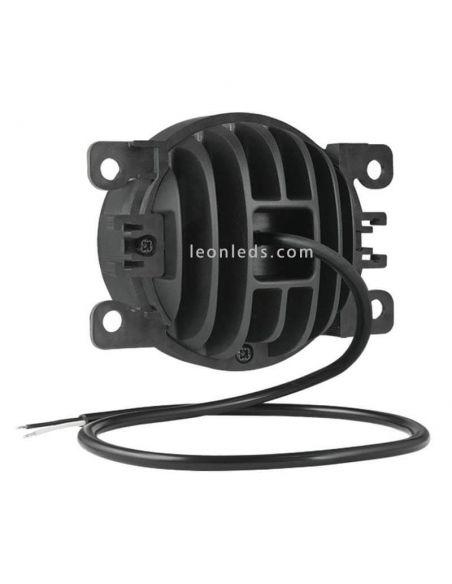 Faro Redondo Ø87 LED Con Soporte 12-24V- Con Cable- | LeonLedsfaros