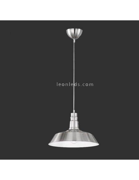 Lámpara de Techo industrial Níquel Will Trio Lighting
