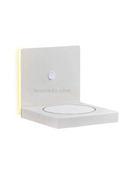 Aplique LED con carga de inducción Zanzibar Mantra