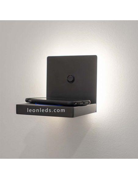 Aplique LED con carga de inducción