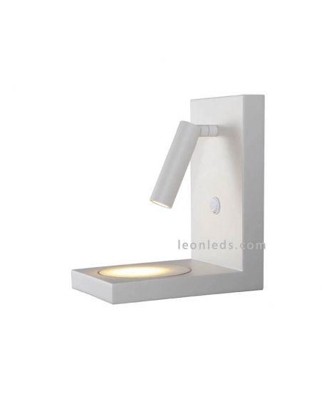 Aplique LED con lector Zanzibar con carga de inducción Mantra
