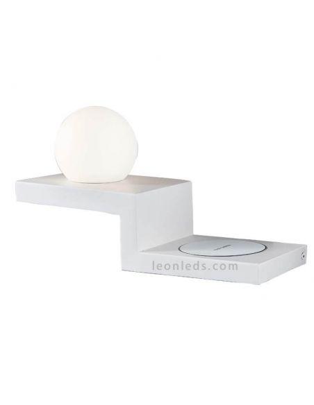 Aplique LED moderno con carga de inducción Zanzibar Mantra