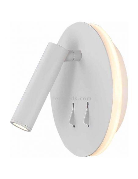 Aplique LED con interruptor Blanco
