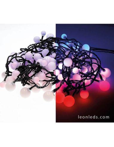 Guirnalda LED Cherry Multicolor 9 metros Exterior