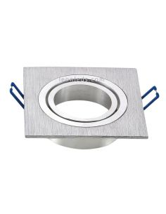 Aro Empotrable cuadrado Aluminio