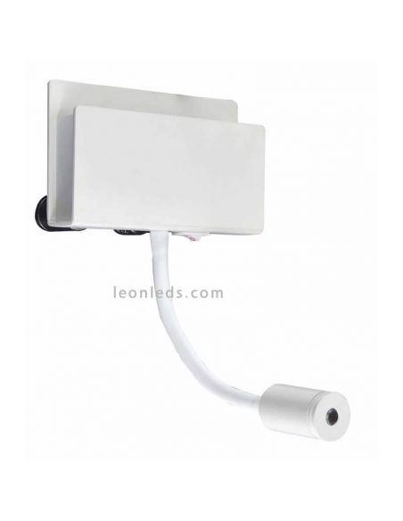 Aplique LED con interrptor y brazo lector Cabarete Mantra 5715
