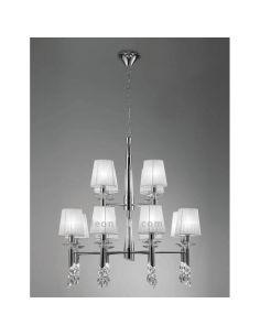 Lámpara de Techo grande Tiffany Mantra