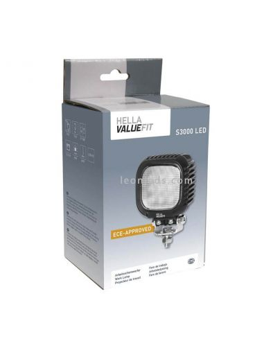 Faro de Trabajo LED Hella 3000Lm S3000 | LeonLeds