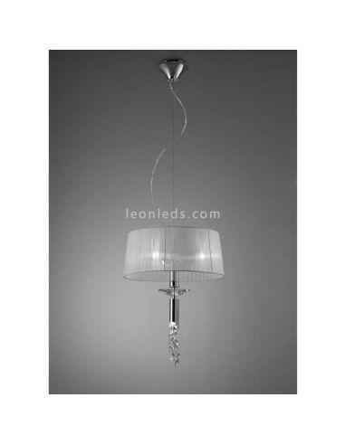 Lámpara de Techo clásica redonda Tiffany Mantra