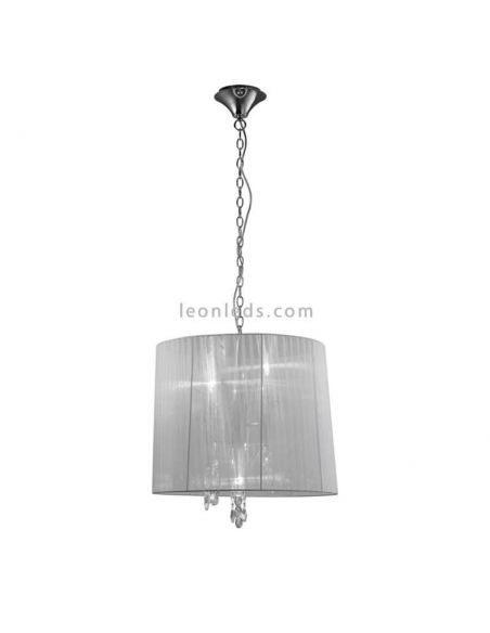 Lámpara Colgante clásica redonda Tiffany Mantra