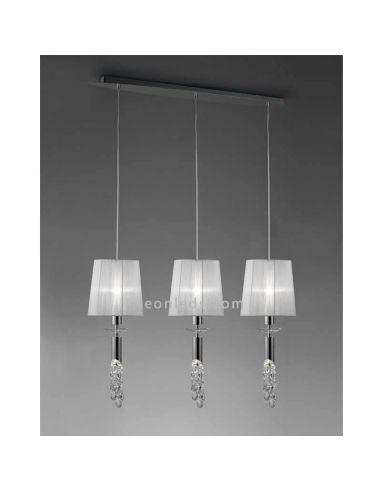 lamparas de techo tiffany Lmpara De Techo 3 Pantallas Clsica Tiffany Mantra