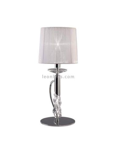 Lámpara de mesa de noche Clásica Tiffany Mantra
