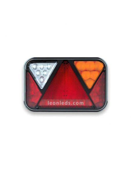 Piloto LED con triangulo y luz de matricula