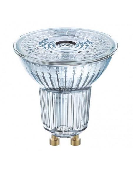 Bombilla Led GU10 Halógena Dicroica LED de 4,6W 50W Osram-LedVance de cristal y con intensidad regulable 36º | LeonLeds