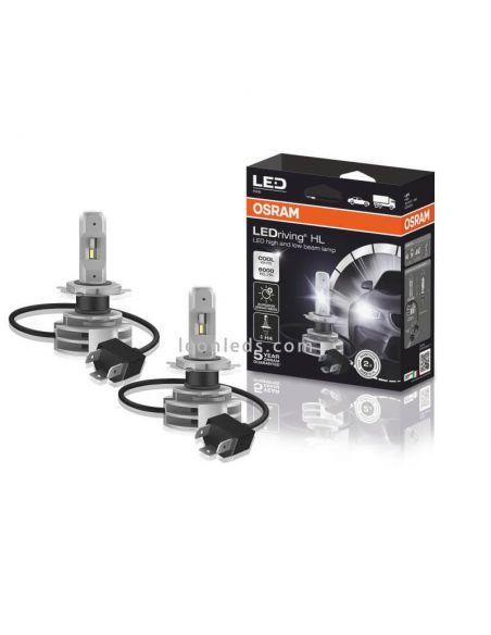 Bombillas LED H4 12V 24V LedDriving Generación 2