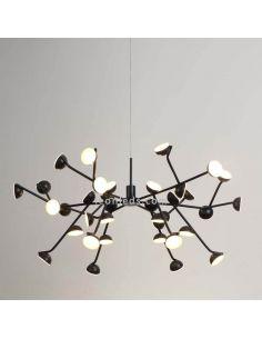 Lámpara de techo LED 108W Minimalista ADN Black 6417
