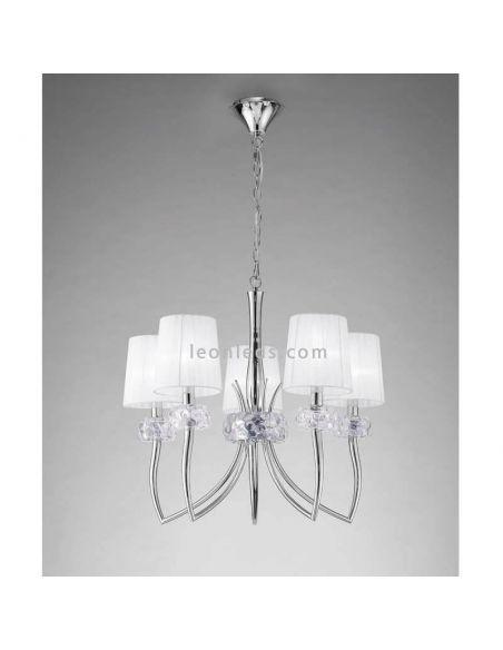 Lámpara de techo 5 Luces Loewe