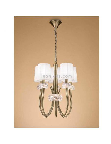 Lámpara de techo Cuero Loewe