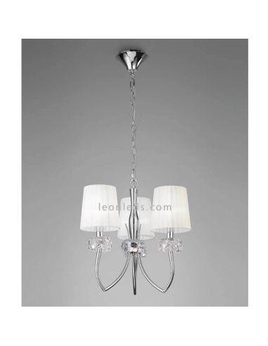 Lámpara de Techo 3 pantallas Loewe