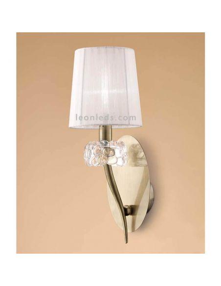 Aplique interior Clásico Loewe Mantra Iluminación