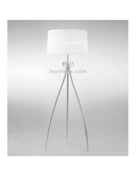 Lámpara de pie 3 patas clásica Loewe