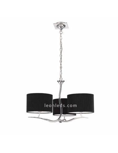 Lámpara de Techo Negra Eve