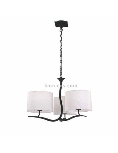 Lámpara de Techo Clásica Antracita Eve