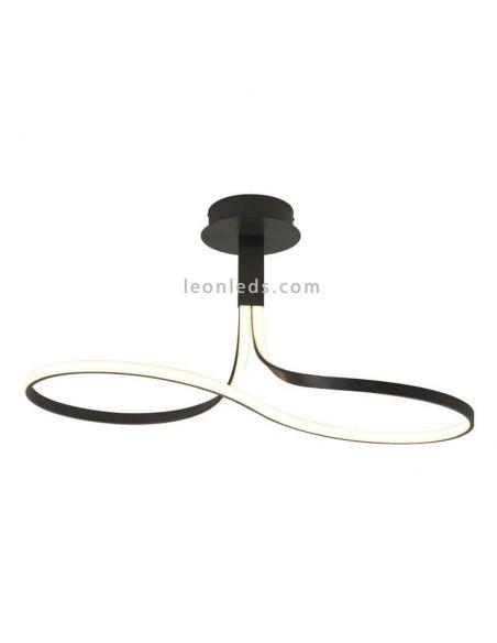 Lámpara de techo LED lazo forja Nur 5825 | LeonLeds Iluminación