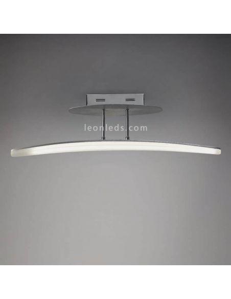 Plafón LED Aluminio Hemisferic 20W 4083 Mantra | Hemisferic