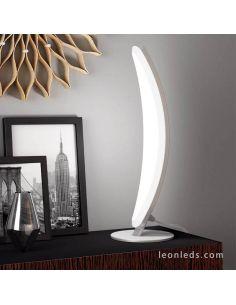 Lámpara de mesa Aluminio pulido Hemisferic 6W 4085