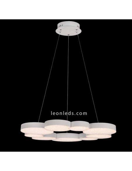 Lámpara de techo LED 76W Lunas 5760 | LeonLeds Iluminación