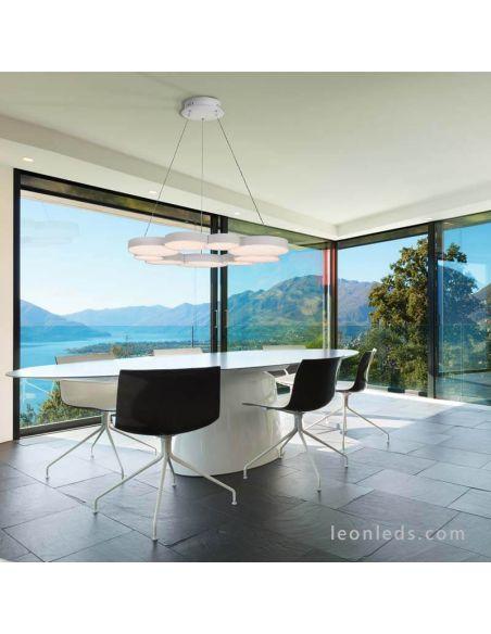 Lámpara de techo LED 76W Lunas 5760