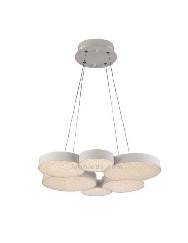 Lámpara de techo LED Lunas 54W con Mando a distancia 5761