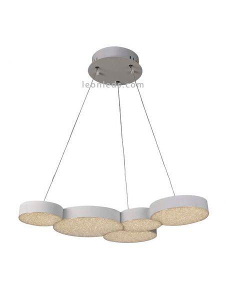 Lámpara de techo LED con Mando a distancia Lunas 43W 5762