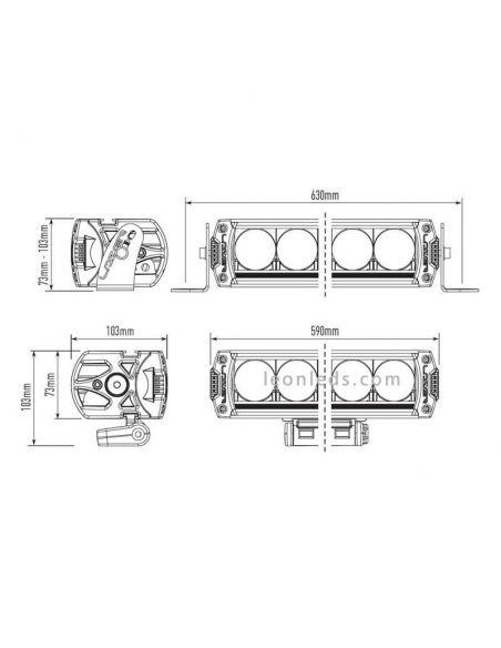 Dimensiones Lazer Triple R-12 1250