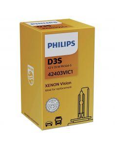 Bombilla D3S Philips Visión 42403VI | LeonLEDs Iluminación