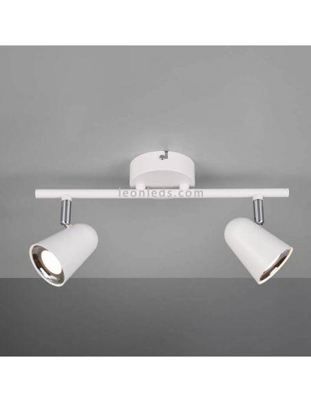 Regleta de 2 Focos LED orientable Toulouse Trio Lighting | LeonLeds Iluminación