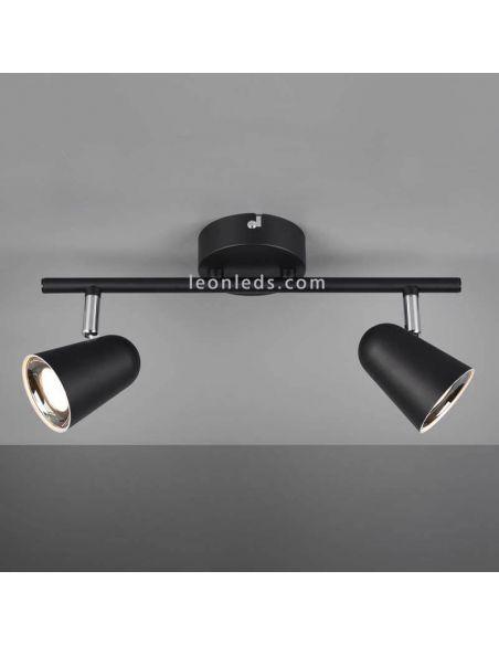 Regleta de 2 Focos LED orientable Toulouse Trio Lighting | LeonLeds