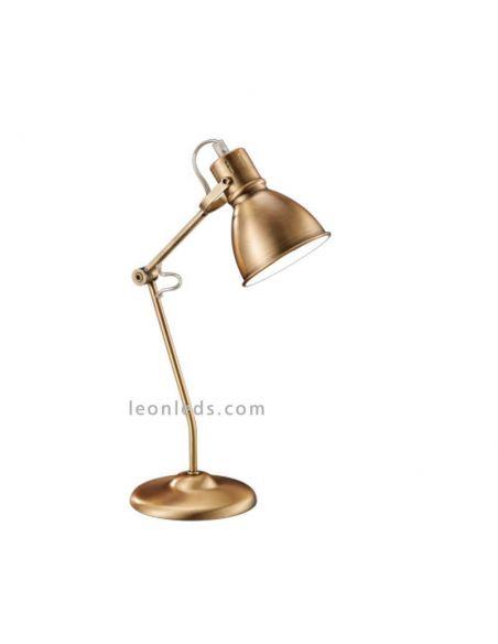 Lámpara de mesa Bronce Jasper | LeonLeds Iluminación