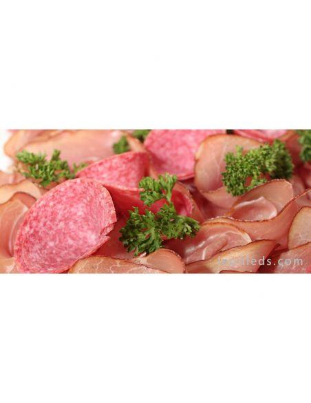 Panel LED 60X60Cm Alimentación 54W Fresh Carnes Rosadas