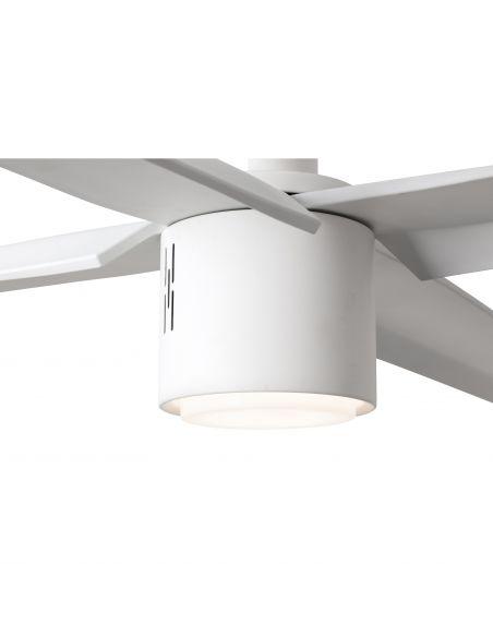 Ventilador de techo LED con Wifi Attos Blanca 33494