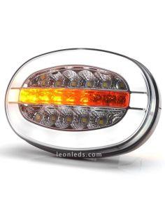 Faro delantero LED con luz de posición y luz diurna W206DDD