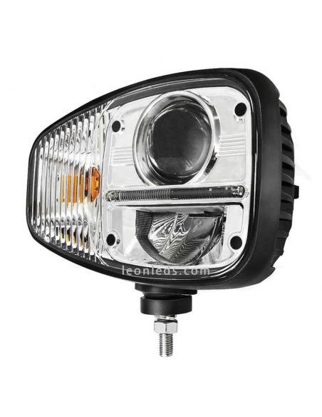 Faro delantero LED Homologado para Maquinaria industrial | LeonLeds Iluminación